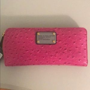 NWT Marc by Marc Jacobs pink wallet